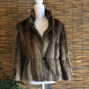 Faux crop jacket